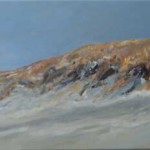 Duin 2009. Acryl op linnen, 70 x 180 cm.