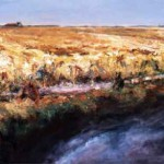 Oldambt 2005. Acryl op linnen, 200 x 125 cm; verkocht