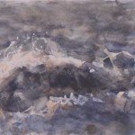 Windkracht7 2005. Aquarel, 35 x 50 cm