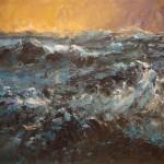 Zee 2005. Acryl op linnen, 90 x 110 cm